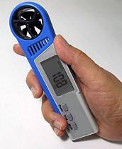 Digital Anemometer Dengan Thermo Hygro AMF025