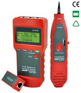 LCD Network Length Tester NF 8208