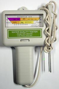 Alat Pengukur pH dan Klorin Kolam Renang KCP01