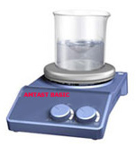 Jual Analog Hot Plate Magnetic Stirrer Porcelain Plate AMTAST BASIC