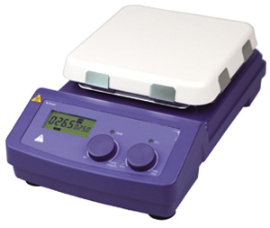 Jual Digital Magnetic Stirrer Porcelain Plate AMT550