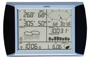 Jual Alat Pengukur Cuaca Weather Station AW002