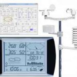 Jual Solar Wireless Professional Touch Screen Weather Station with PC Interface AW002