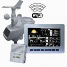 Wireless Professional Weather Station with WIFI and TFT Color Display  AW003