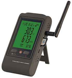 Jual GSM/GPRS Temperature and Humidity Data logger