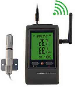 Jual WIFI Temperature and Humidity Data logger